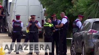 Spanish police hunt for last remaining suspect linked to attacks - ALJAZEERAENGLISH