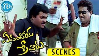 Evandoi Srivaru Movie Scenes || Sunil Explains Story to  Prithviraj Comedy Scene - IDREAMMOVIES