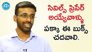 Civils Preparation Tips & Guidelines - IAS Topper Sai Teja Seelam | Dil Se With Anjali - IDREAMMOVIES