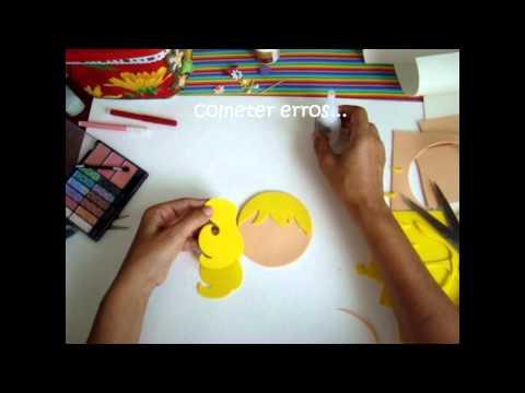 Artesanato EVA - Mestre Cuca (rosto1/2) -Oficinas Cri A tivas