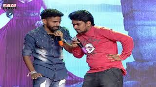 PATAS Team Funny Skit | RamCharan | Srivalli Pre Release | Rajath, NehaHinge | VijayendraPrasad - ADITYAMUSIC