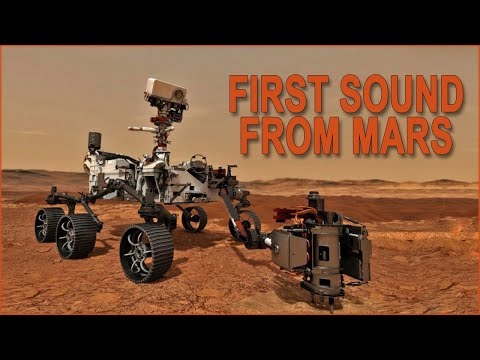 The first sound from Mars MOTW