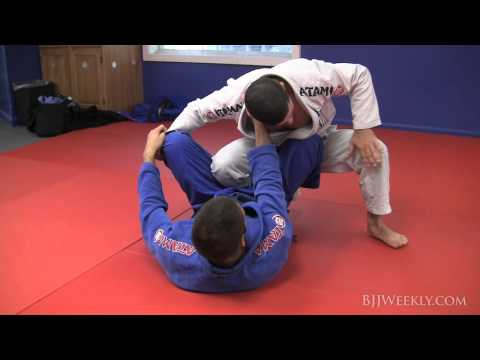 Augusto 'Tanquinho' Mendes - Ankle Pick Takedown with Guard Pass - BJJ Weekly #057