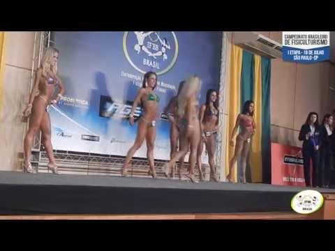 Premiação 45º Campeonato Brasileiro de Fisiculturismo IFBB
