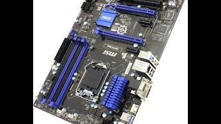 Ремонт MSI H97 PC MATE. Восстановление прошивки BIOS