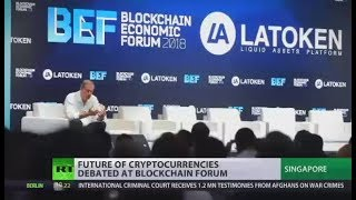 World Blockchain Economic Forum: Future of cryptocurrencies discussed in Singapore - RUSSIATODAY