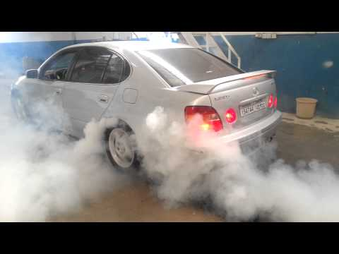GS300 burnout
