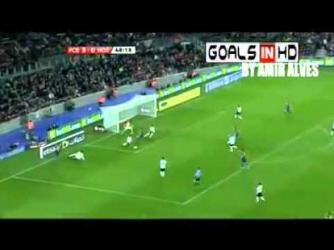 Barcelona vs Hospitalet 9 0 HQ All Goals & Full Match Highlights 22 12 2011