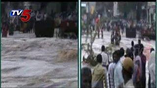 Kurnool | Massive Floods By Heavy Rains : TV5 News - TV5NEWSCHANNEL