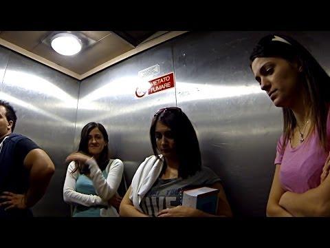 Elevator Sneeze Prank