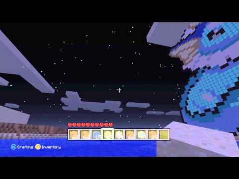 Kross's Minecraft Pixel Art Adventure! Giant VAPOREON!