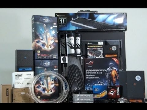 Singularity Computers Client Build 4 - TJ11 Extreme Water-cooling: Part 1