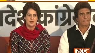 Nation stands shoulder to shoulder with the families of the brave martyrs, says Priyanka Gandhi - INDIATV