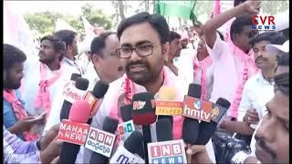 TRS Party Activists Bike Rally in Choppadandi Constituency Support For Sunke Ravi Shankar | CVR News - CVRNEWSOFFICIAL