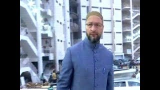 Telangana Polls: Owaisi arrives at AIMIM office ahead of vote counting in Hyderabad - TIMESOFINDIACHANNEL