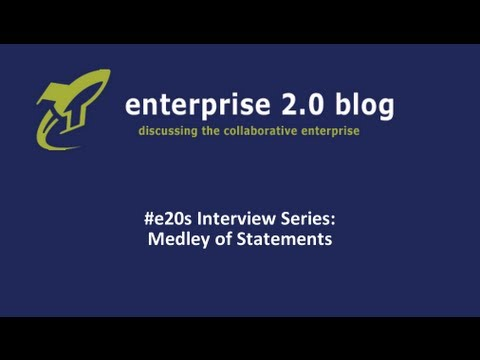 #e20s Interview Series: Selection of key statements