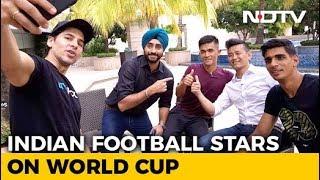 Sunil Chhetri, Bhaichung Bhutia Pick Their FIFA World Cup 2018 Favourites - NDTV