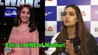 Esha Gupta in AWE of Madhuri Dixit | Total Dhamaal - IANSLIVE