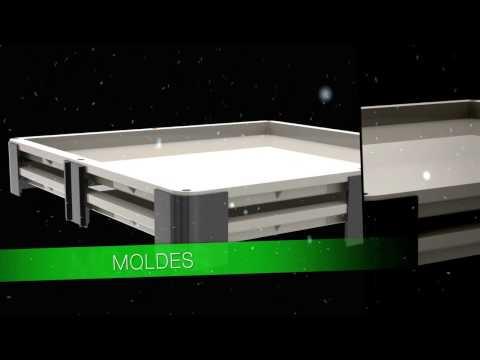 Sea fabricante de pisos. Instale su propia fábrica de pisos y revestimientos. Piedra Artificial.