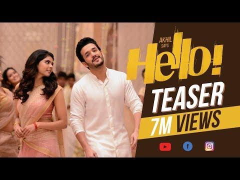 HELLO! Teaser - Akhil Akkineni, Kalyani Priyadarshan    Vikram K Kumar    Akkineni Nagarjuna