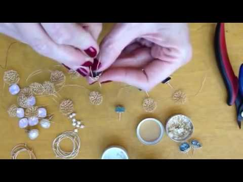 Learn to make wire crochet jewelry