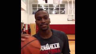 Kevin Ware Dunking After Recovering From Injury