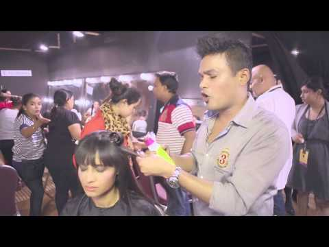 TIGI Hair Tutorial from Tarun Tahiliani Show at LFW