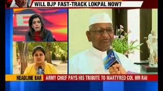 Anna Hazare talks exclusively to NewsX after announcing protest - NEWSXLIVE