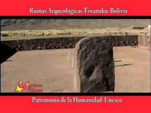 Mañana en Casa tv -  Santo Domingo, Dominican Republic- RUINAS ARQUEOLOGICAS TIWANAKU- Bolivia-
