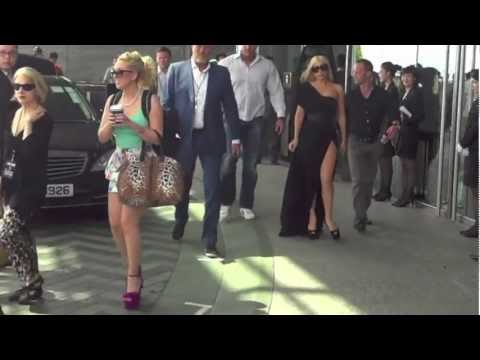 Lady Gaga leaving the Ritz Carlton Hong Kong, 5/03/2012