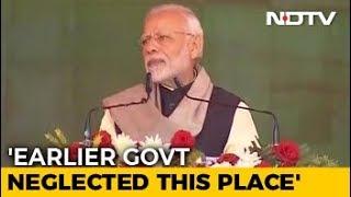 PM Modi In Sonia Gandhi's Turf Raebareli, Visits Coach Factory - NDTV