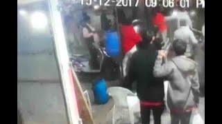 Ahmedabad: Man attacks another with sword; incident captured on CCTV camera - ABPNEWSTV