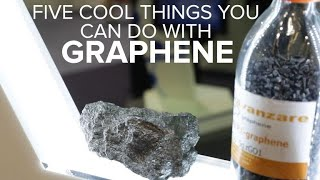 Five cool uses for the wonder material graphene - CNETTV