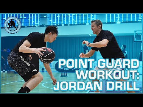 Ganon Baker Basketball Point Guard Workout - Jordan Drill