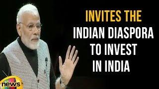 Modi Invites The Indian Diaspora To Invest In India | Mango News - MANGONEWS