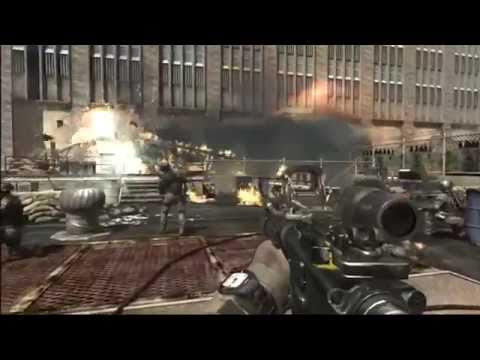 Call of Duty 8 Modern Warfare 3 Russian invasion of New York Gameplay - Campaign Mission 2