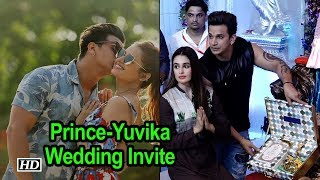 Prince Narula-Yuvika Chaudhary send out their First Wedding Invite - IANSLIVE