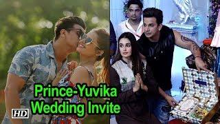 Prince Narula-Yuvika Chaudhary send out their First Wedding Invite - IANSLIVE