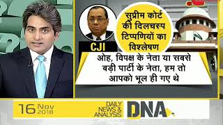 DNA: Apex court on CBI director Alok Verma - ZEENEWS