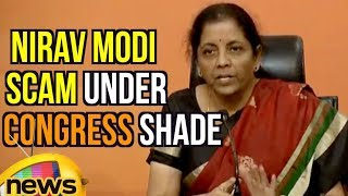 Nirav Modi Scam Happened Under Congress Shade, Says Nirmala Sitharaman | Mango News - MANGONEWS