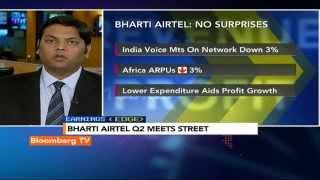 Earnings Edge: Bharti Airtel Q2 Meets Street - BLOOMBERGUTV