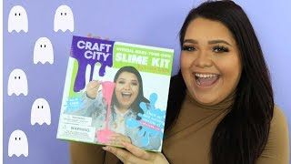 Making SLIME with KARINA GARCIA (TRY THE TREND) - HOLLYWIRETV