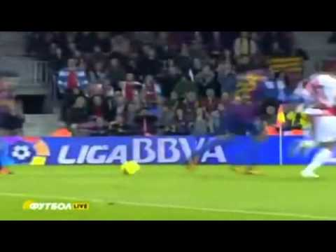 Barcelona vs Rayo Vallecano 4 0 All Goals & Highlights 29 11 2011