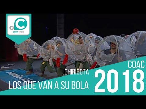 La agrupación Los que van a su bola llega al COAC 2018 en la modalidad de Chirigotas. Primera actuación de la agrupación para esta modalidad.