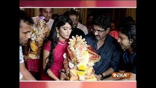 Ye Rishta Kya Kehlata Hai star cast bids adieu to bappa - INDIATV