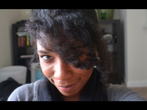 "Easy French Twist on Big Hair | Protective Hairstyle ""Natural Hair"""