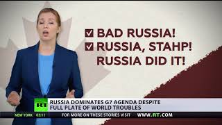 Russia on the table? G7 nations come together to tackle the Kremlin menace - RUSSIATODAY