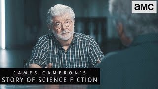 'George Lucas on Star Wars Being Anti-Authoritarian' | James Cameron's Story of Science Fiction - AMC