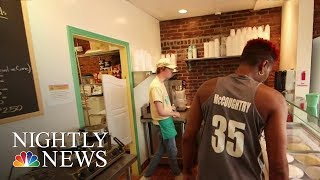 Hoops to Scoops: Basketball Star Finds Success Opening Ice Cream Parlor | NBC Nightly News - NBCNEWS