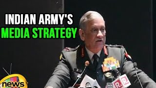 Army Chief Gen Bipin Rawat Spells Out Indian Army's Media Strategy | Mango News - MANGONEWS